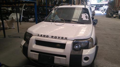 sucata peças  land rover freelander 1 2005 gasolina 177cv