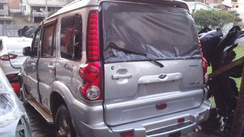 sucata peças mahindra scorpion-motor câmbio air bag porta