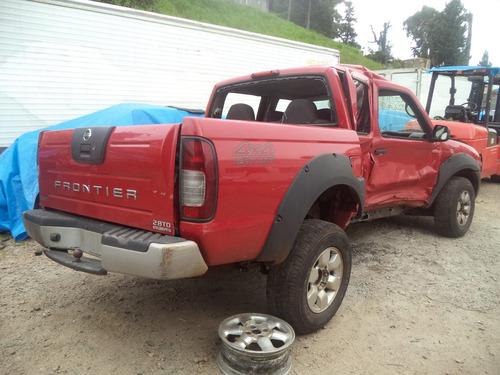 sucata peças nissan frontier 4x4 xe diesel 2.8 2004