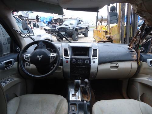 sucata peças pajero dakar 2010 3.2 diesel motor/cambio/bomba