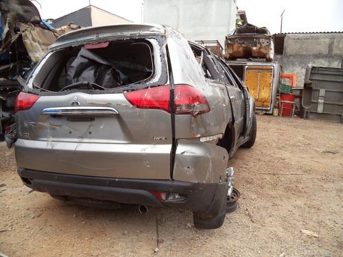 sucata peças pajero dakar 3.2 diesel 2015/2016