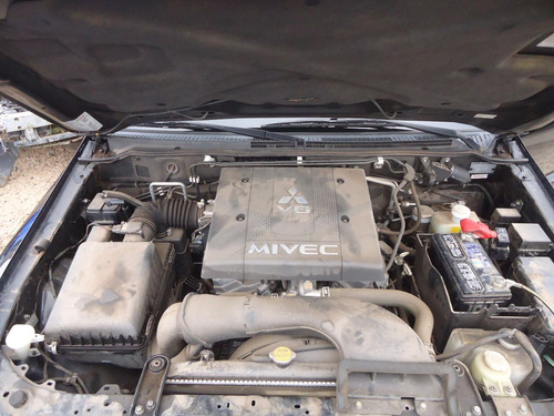 sucata peças pajero full 3.8 gas 08 motor/cambio/bomba/porta