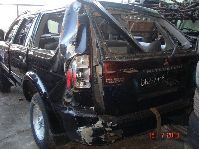sucata peças pajero motor cabine polia do virabrquim l200