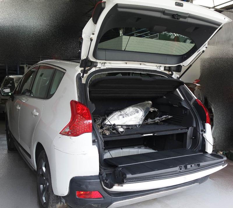 sucata peças peugeot 3008 griffe 1.6 16v turbo 2011/2012