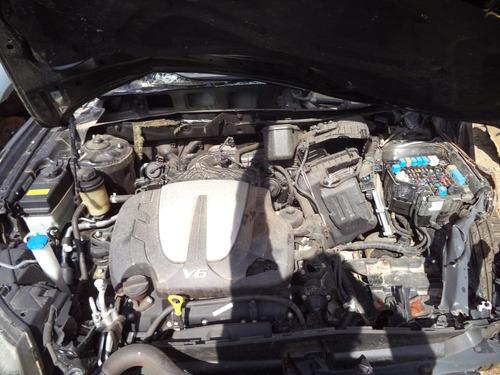 sucata peças santa fé 2010 gls 4x4 3.5 v6 motor/cambio/bomba