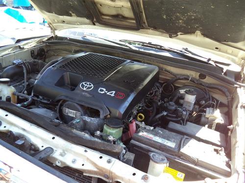 sucata peças toyota hilux sw4 3.0 diesel 2011