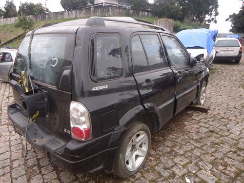 sucata peças tracker 2.0 gasolina 2009
