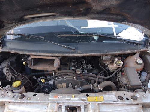 sucata peças transit 2.4 dies 2011 motor/cambio/bico/bomba
