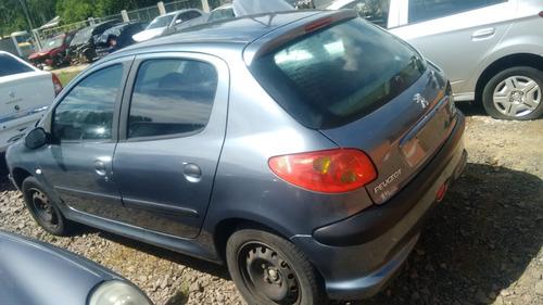 sucata peugeot 206 1.0 16v 2003 gasolina rspeças farroupilha