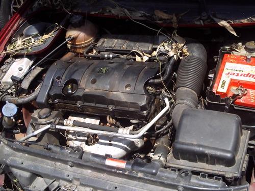 sucata peugeot 206 1.6 16v p/ peças motor câmbio lataria