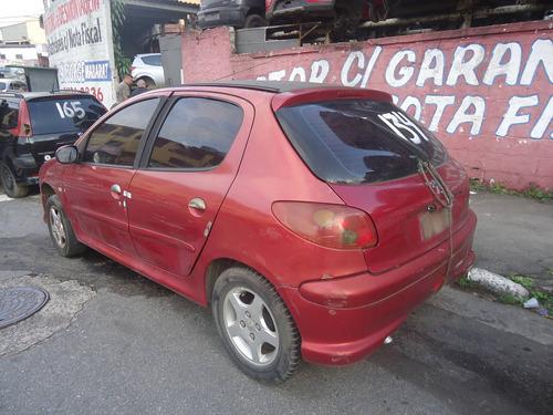 sucata peugeot 206 carroceria parachoque farol capo paralama