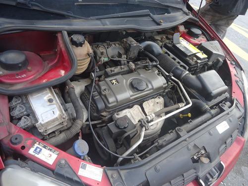 sucata peugeot 206 motor 1.4 c/ nota e baixa cambio garantia