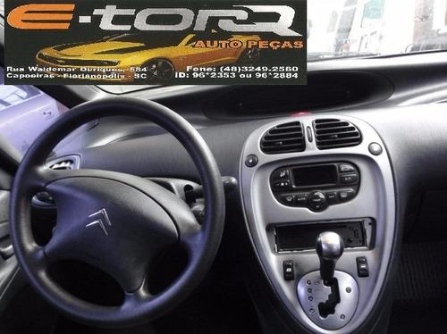 sucata picasso 2.0 16v exs automática 2008 completa