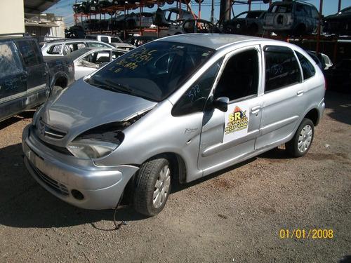sucata picasso 2.0 aut, 2006 peças motor cambio lata