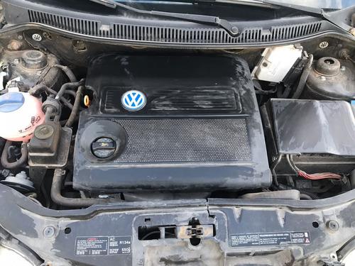 sucata polo sedan 1.6 gasolina 2004 - rs auto peças