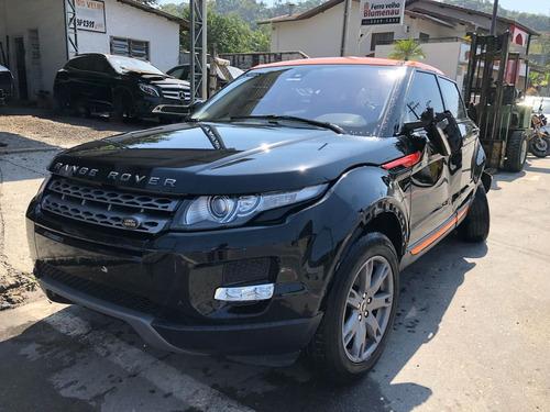 sucata range rover evoque pure gasolina 2013 venda de peças