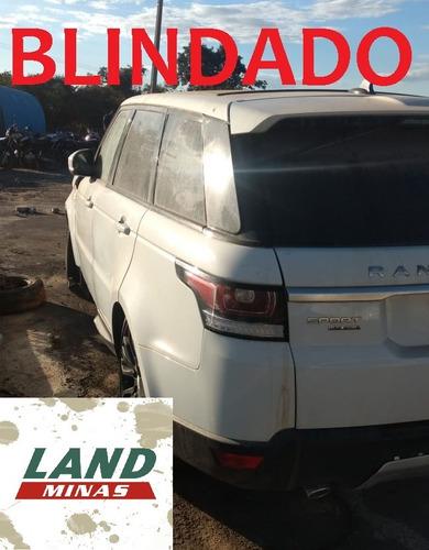 sucata range rover sport 2016 blindada