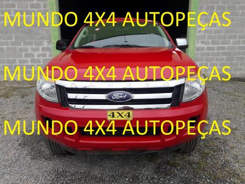 sucata ranger 2015 xlt 2.5 4x2 flex com motor e cambio peças