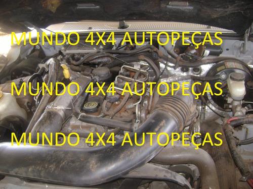 sucata  ranger 3.0 d 2007 com motor e cambio e peças