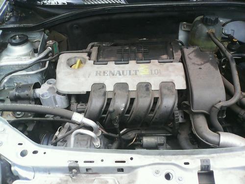 sucata renault clio 1.0 16v 2001- motor câmbio peças acess