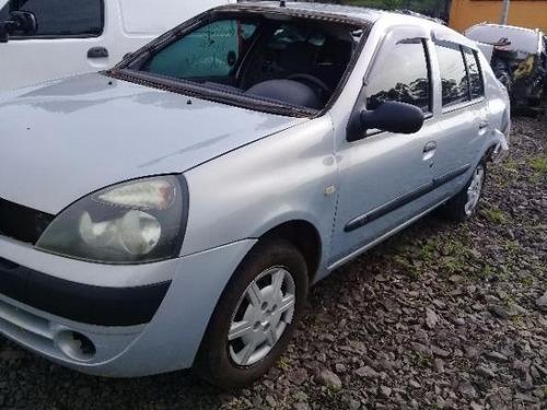 sucata renault clio 1.0 gasolina 2003 rs caí peças