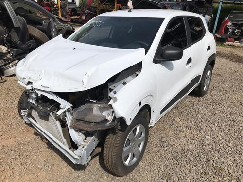 sucata renault kwid 2019 1.0 3cilindros - rs auto peças