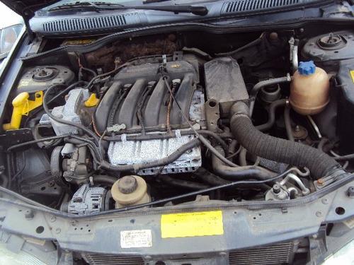 sucata renault megane 1.6 16v 2003 - em peças