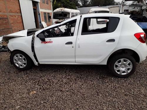 sucata renault sandero auth 1.0 3cc 2019 - rs auto peças