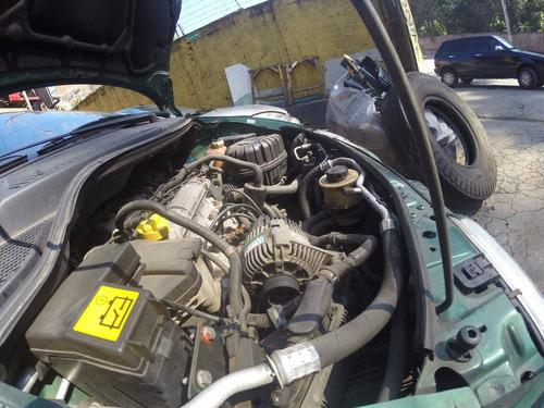 sucata renault scenic 01 motor cambio peças 2.0 8v baixado