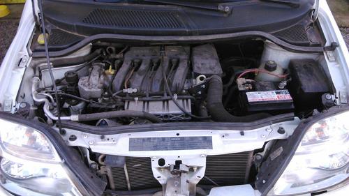 sucata renault scenic 2.0 16v 02 manual gasolina - rs peças