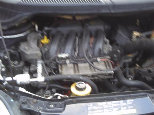 sucata renault scenic motor 1.6 16v cambio manual em partes