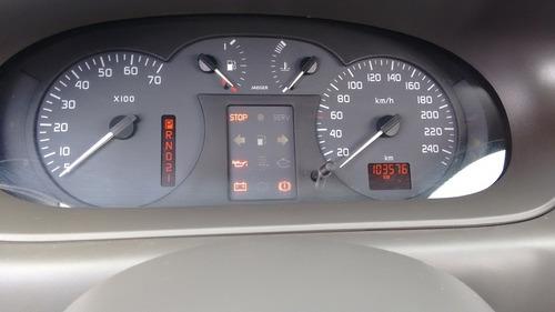 sucata renault/scenic rxe 2.0 16v automática ano 2002.