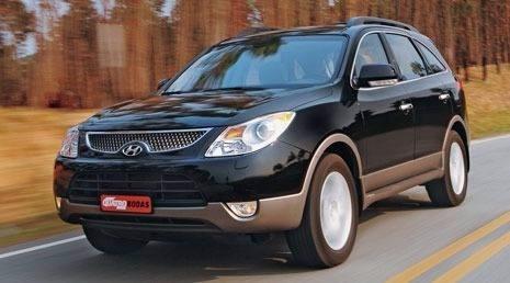 sucata retirar peças hyundai vera cruz - airbag/cambio/lata