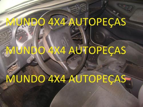 sucata s10  2.4 2008 flex com motor e cambio e peças