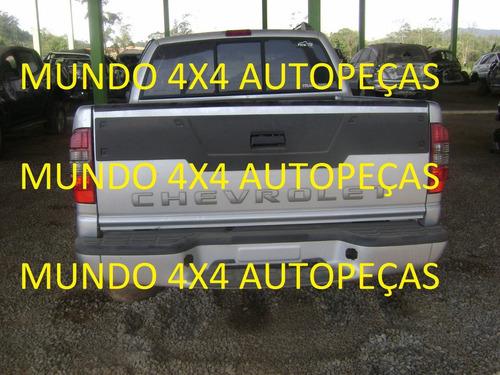 sucata s10  2.4 flex 2011 com motor e cambio e peças