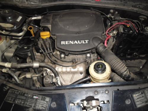 sucata sandero 1.6 8v  2012 pra tirar peças motor cambio etc