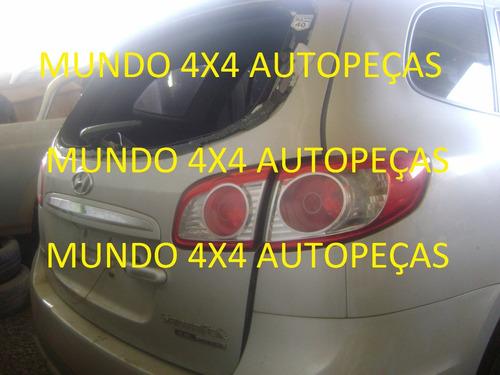 sucata santa fé 3.5 24v v6 2012 com motor e cambio e peças
