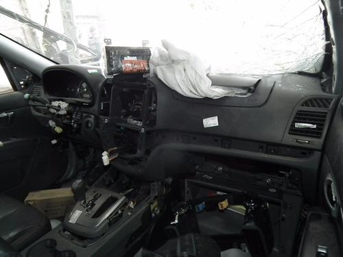 sucata santa fé 3.5 v6 2011 motor cambio peças lataria