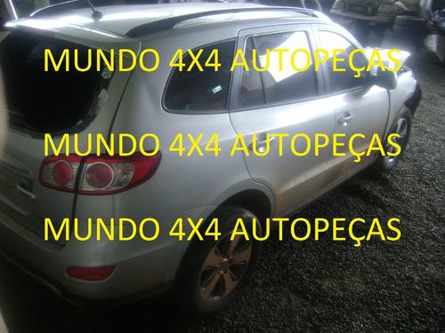 sucata santa fé v6 3.5 24v  2012 com motor e cambio e peças