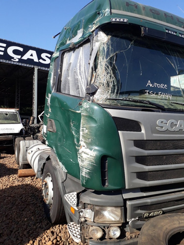 sucata scania r420 2011 venda de peças