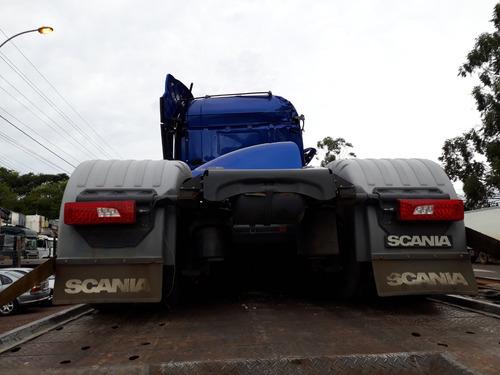 sucata scania r440 a 6x2 2016 para venda de peças
