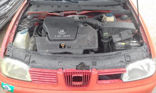 sucata seat cordoba 1.6 sr - motor, caixa, suspensão, acess