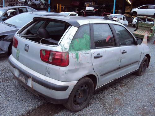 sucata seat ibiza 1.0 16v ano 2001 para retirada de peças!