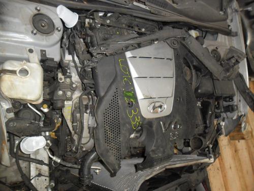 sucata sonata 2006 3.3 v6  motor lataria cambio