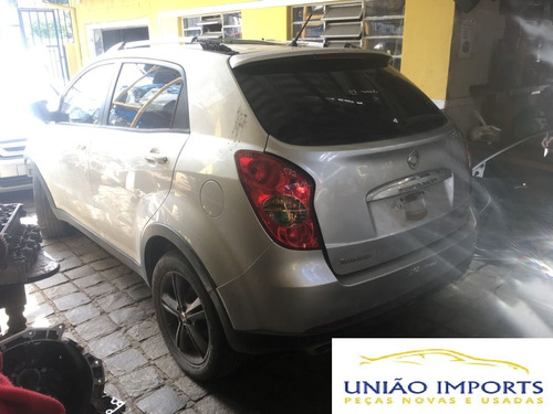 sucata ssang yong korando 2.0 2012 awd turbo diesel