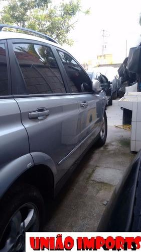 sucata ssangyong actyon gasolina 2.3 retirada de peças