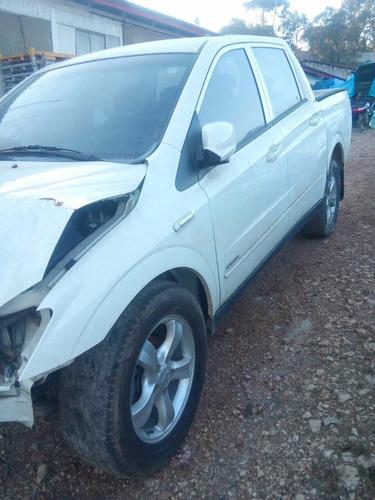 sucata ssangyong acyton sport 2012 2.0 16 v diesel retirada