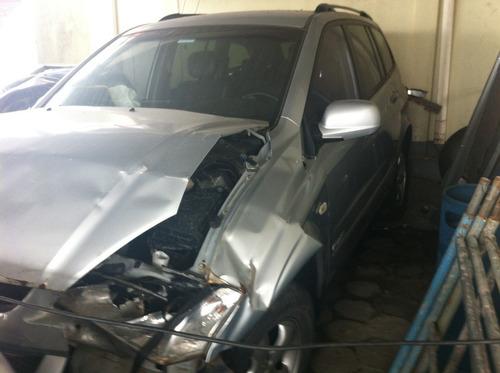 sucata ssangyong kyron 4cc 2011 peças motor cambio lataria