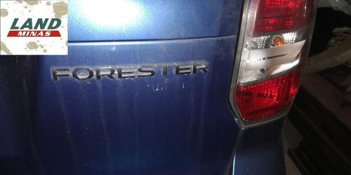 sucata subaru forester 2.0 turbo 2014 - retirada de peças