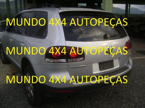 sucata touareg  3.6 v6 24v 2010 com motor e cambio e peças